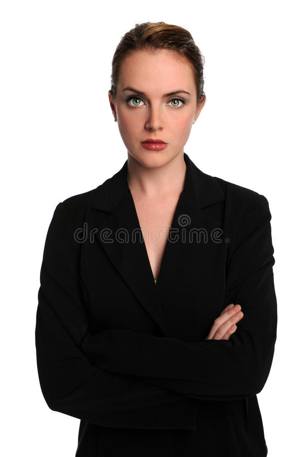 Download Portrait of Businesswoman stock photo. Image of crossed - 14967990
