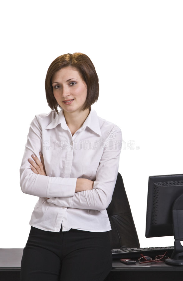 Download Portrait Of A Businesswoman Stock Image - Image: 7134711