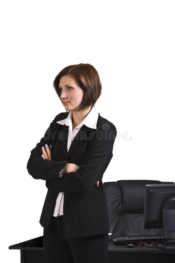 Portrait Of A Businesswoman Stock Image