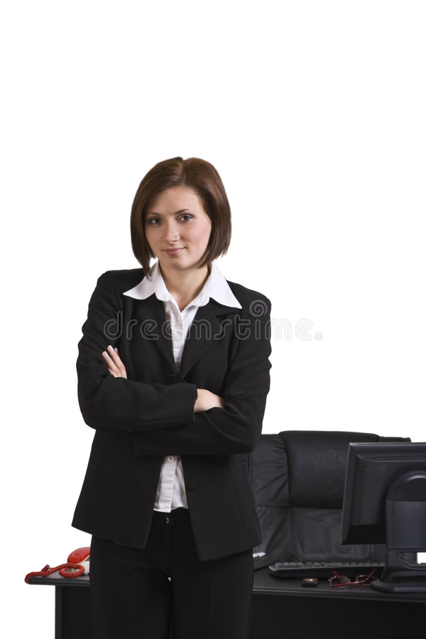Portrait Of A Businesswoman Royalty Free Stock Photos