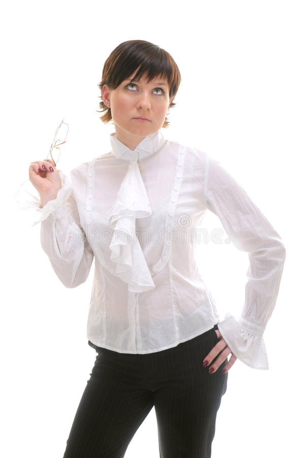 Portrait of businesswoman stock photography