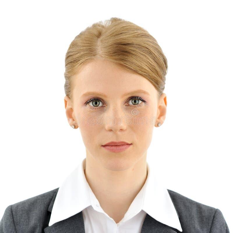 Portrait of a businesswoman stock photos