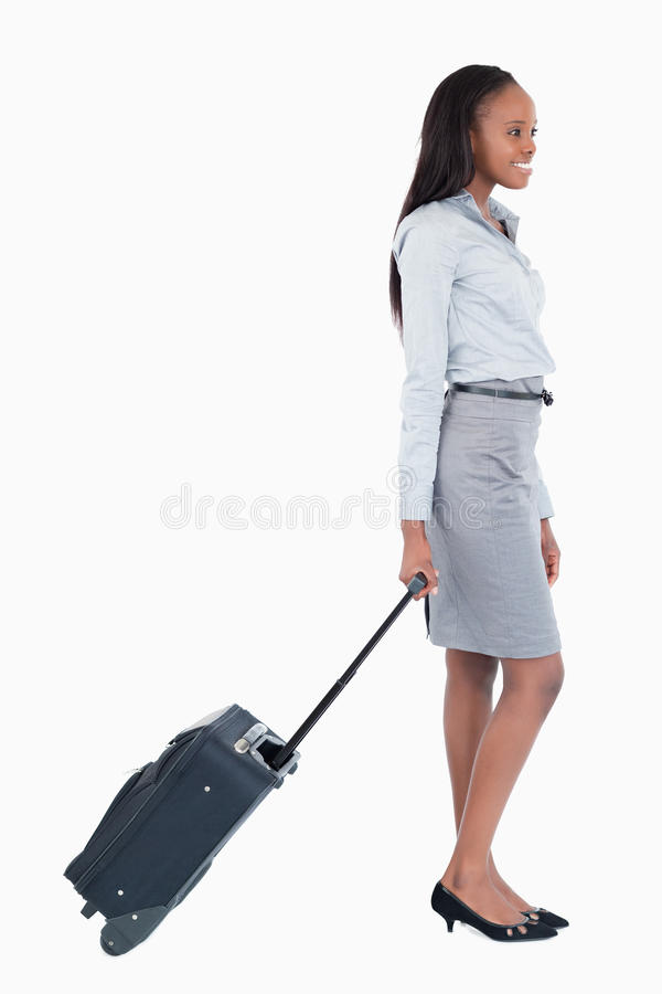 Download Portrait Of A Businesswoman Walking Stock Photo - Image: 22048406