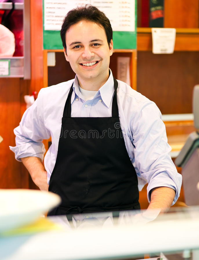 Download Butcher At Work Royalty Free Stock Photos - Image: 29837898