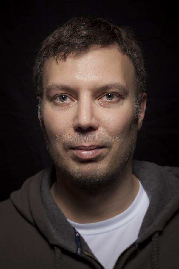 Portrait caucasien masculin beau photos stock