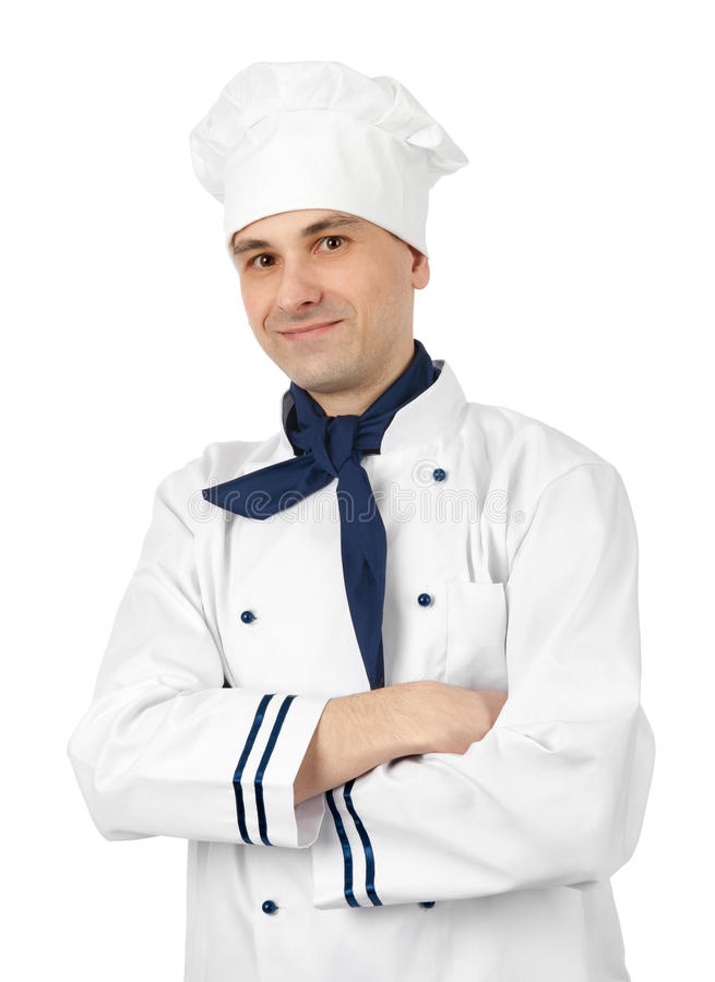 Download Portrait of a chef stock photo. Image of caucasian, career - 24263120