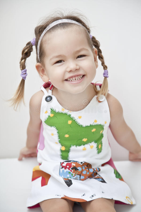 Portrait of a child royalty free stock photo