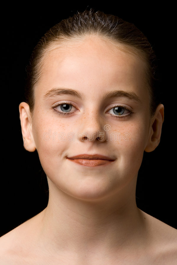 Portrait of a child stock photography