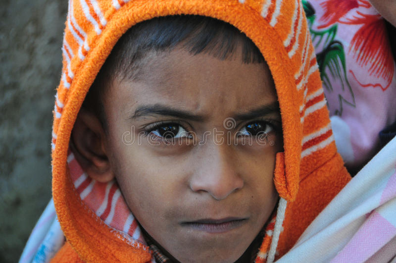 Portrait of children in Sri Lanka. Portrait of unidentified children in Sri Lanka stock image
