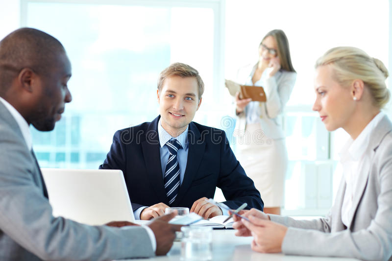 Interaction Royalty Free Stock Image