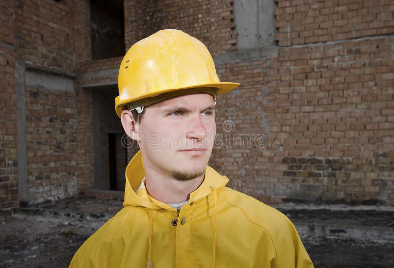Download Portrait Of Confident Construction Worker Stock Photo - Image of years, worker: 19320966