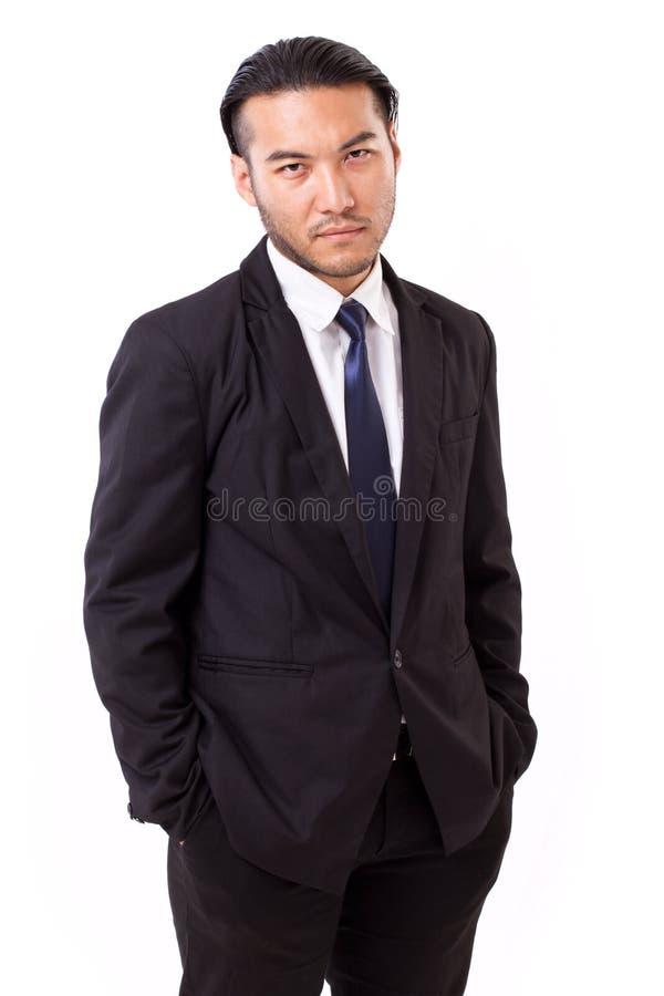 Portrait of confident, successful businessman stock photos