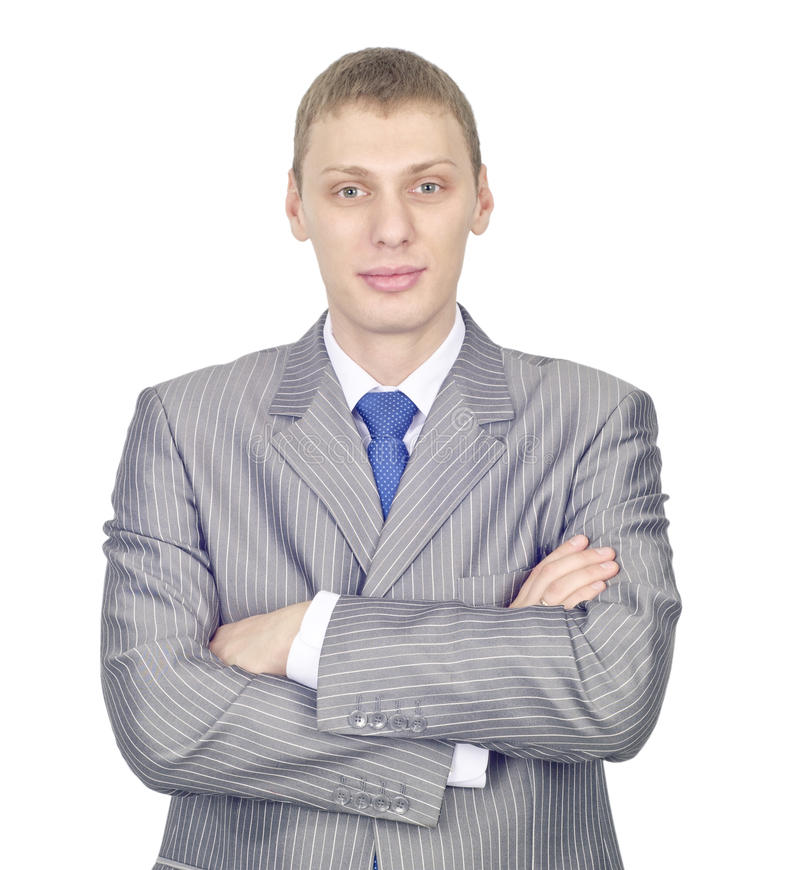 Download Portrait Of A Confident Young Businessman Stock Image - Image: 22229951