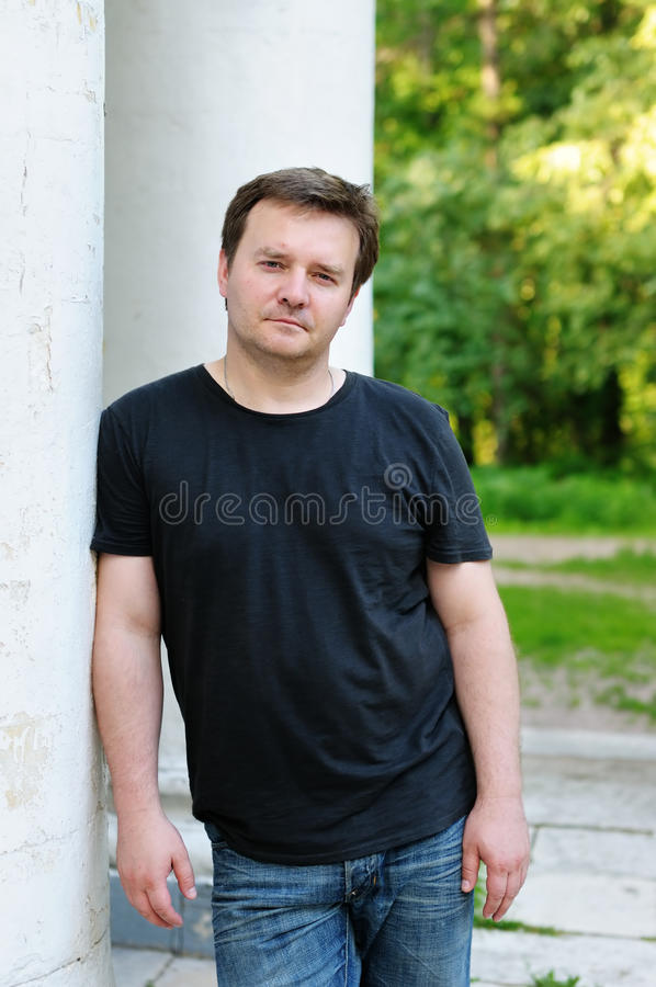 Download Portrait of courageous man stock photo. Image of leader - 20144852