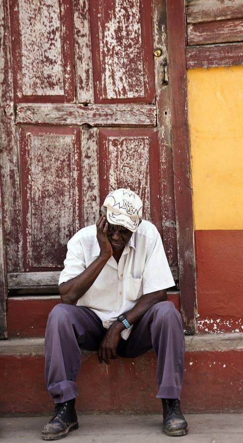 Portrait from Cuba stock photos