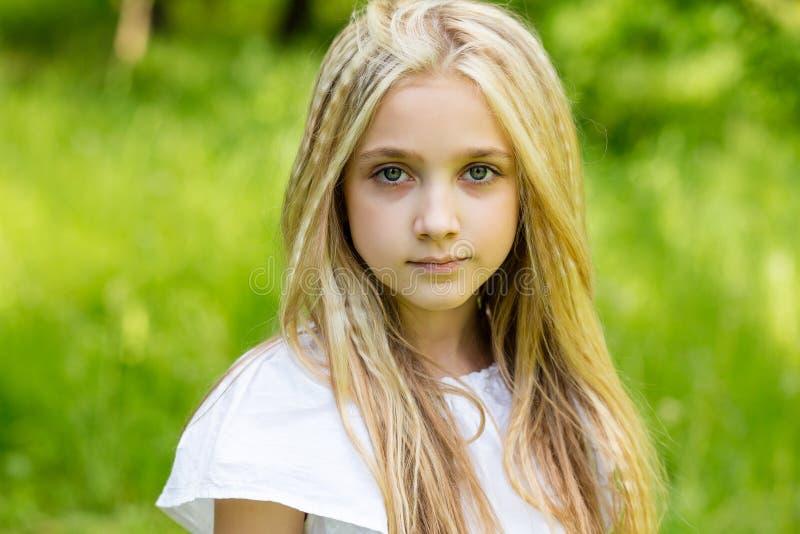 Thumbs of cute blonde girl — 11