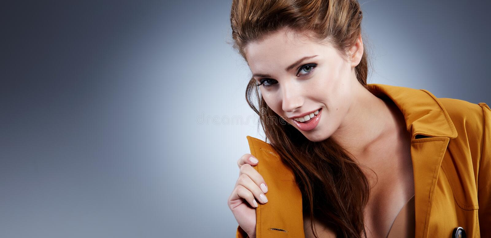 Download Portrait Of A Cute Woman Royalty Free Stock Image - Image: 21768836
