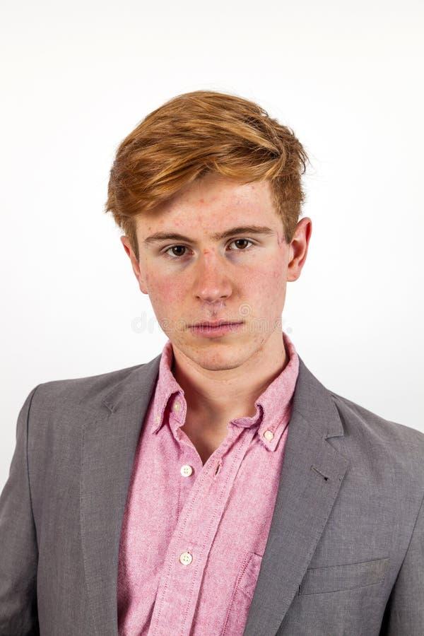 Portrait d'adolescent bel images stock