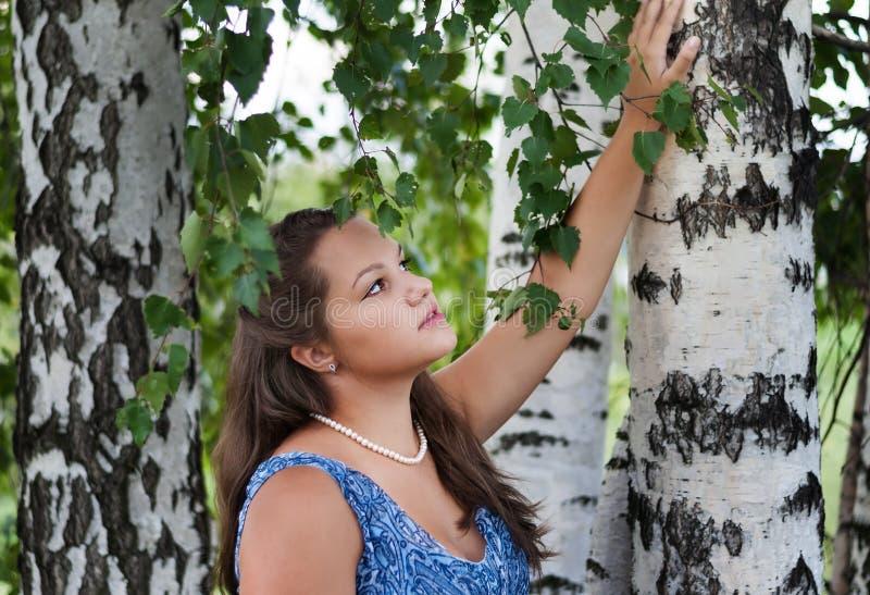 Portrait d'adolescente image libre de droits