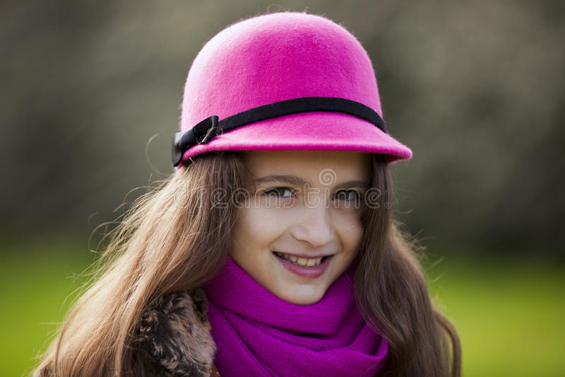 Portrait d'enfant féminin image libre de droits