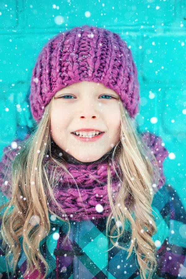 Portrait d'hiver images libres de droits