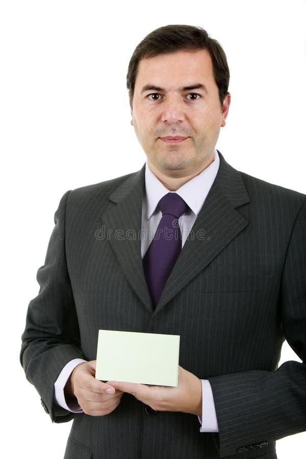 Portrait d'homme d'affaires photo stock