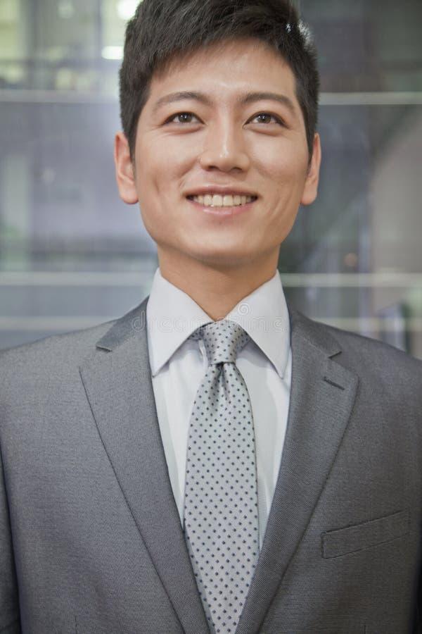 Portrait d'homme d'affaires de sourire photos libres de droits