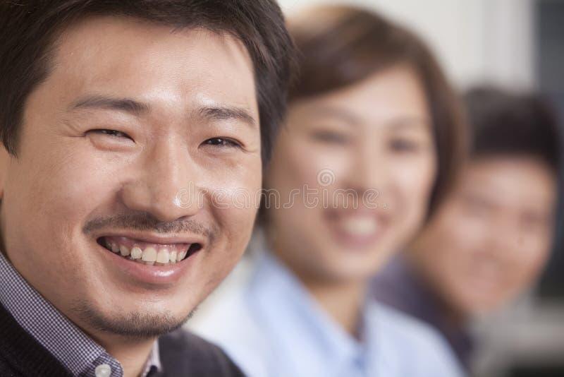 Portrait d'homme d'affaires de sourire photo libre de droits