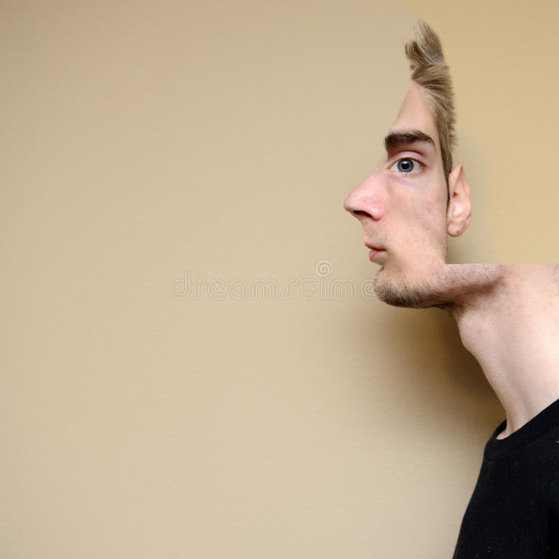 Portrait d'illusion photo libre de droits