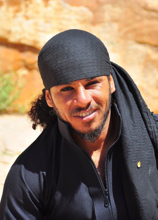 Portrait d'un bédouin jordanien photo libre de droits