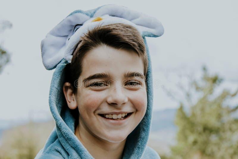 Portrait d'un garçon déguisé photos stock