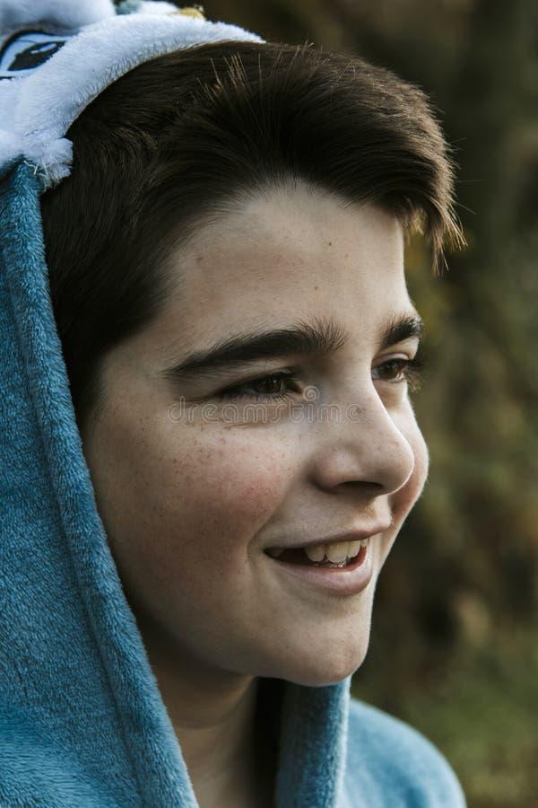Portrait d'un garçon déguisé images libres de droits