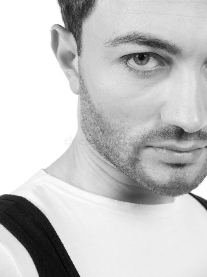 Portrait d'un homme image libre de droits