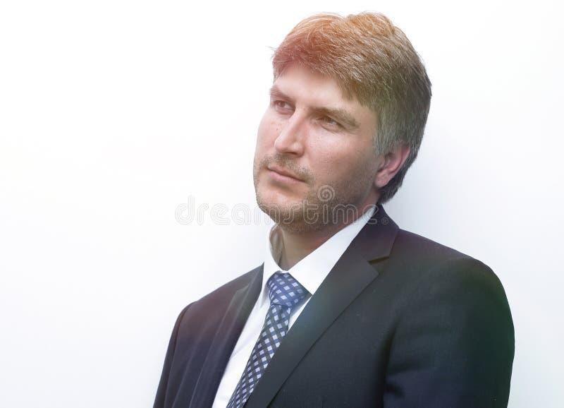 Portrait d'un homme d'affaires bienveillant sérieux photographie stock libre de droits
