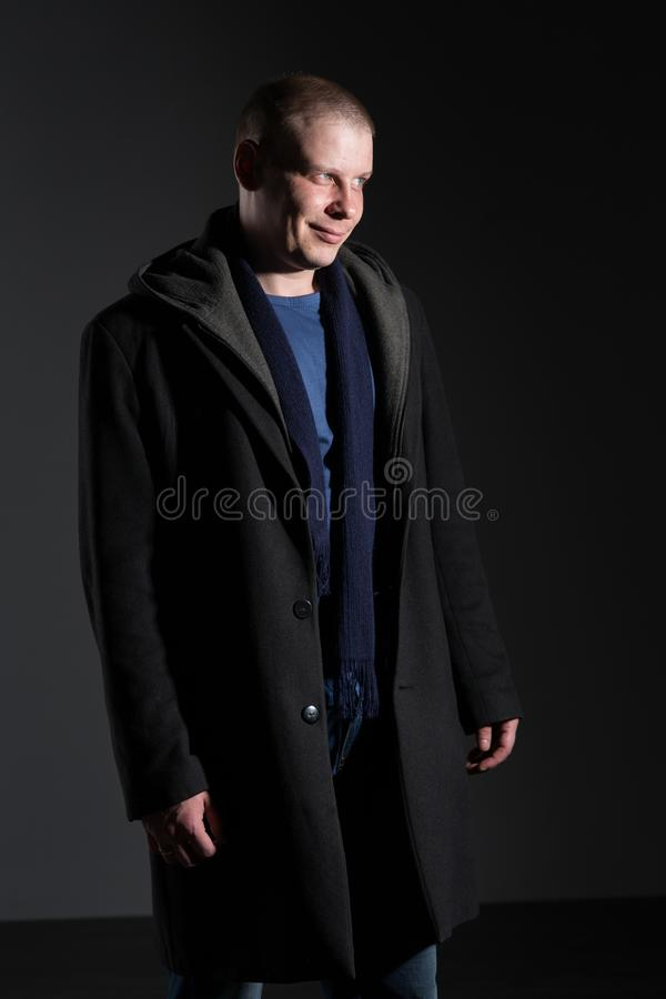 Portrait d'un homme photos stock