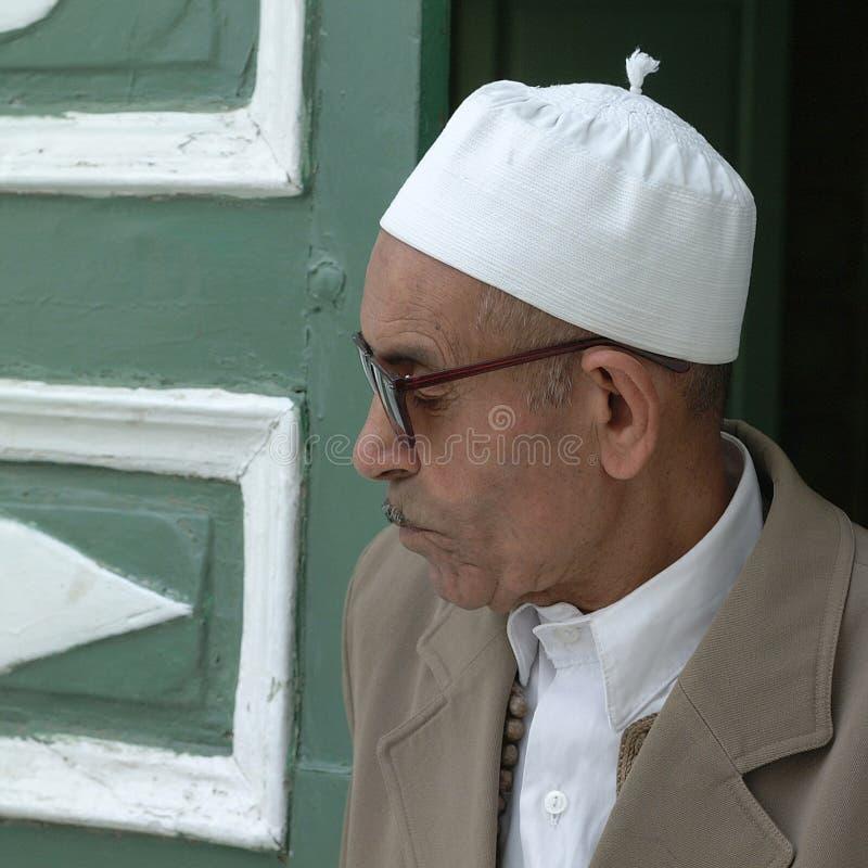 Portrait d'un homme religieux image stock