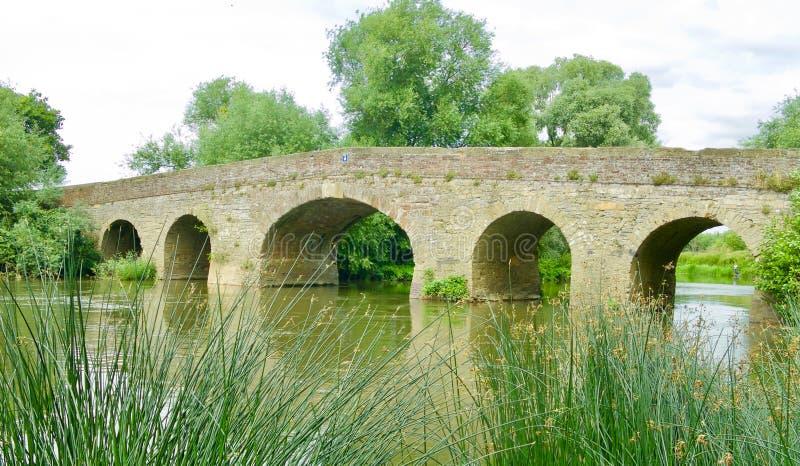 Portrait d'un pont image stock