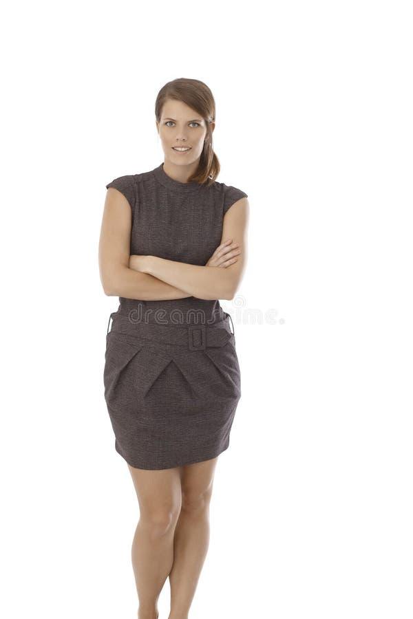 Portrait d'un secrétaire dans la robe photos libres de droits