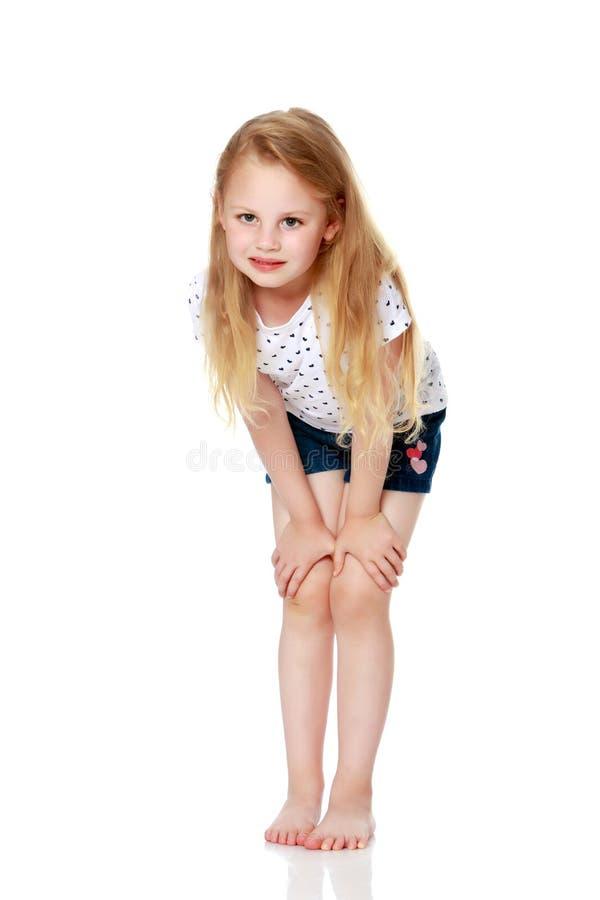 Portrait d'une belle petite fille photos libres de droits