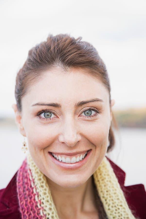 Portrait d'une femme images stock