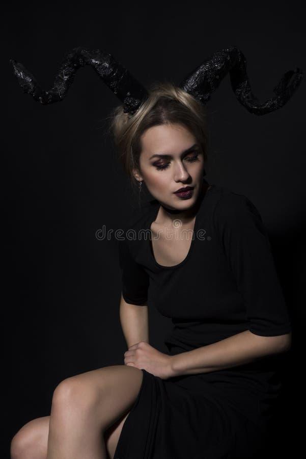 Portrait d'une fille photographie stock libre de droits