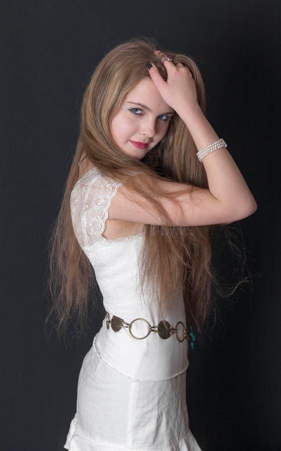 Portrait de blonde images libres de droits