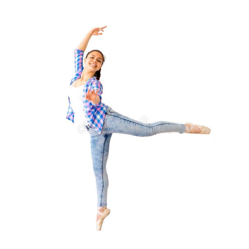 Portrait d'une fille de danse photos libres de droits