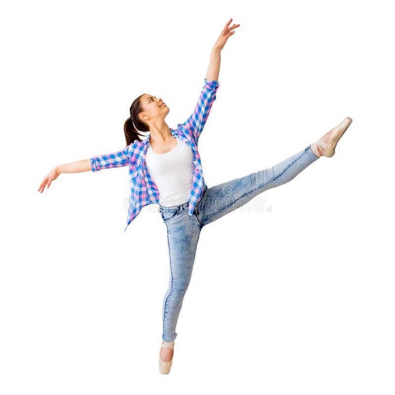 Portrait d'une fille de danse image stock