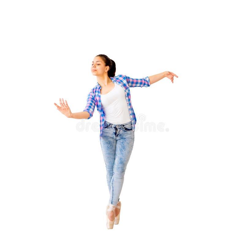Portrait d'une fille de danse photos stock