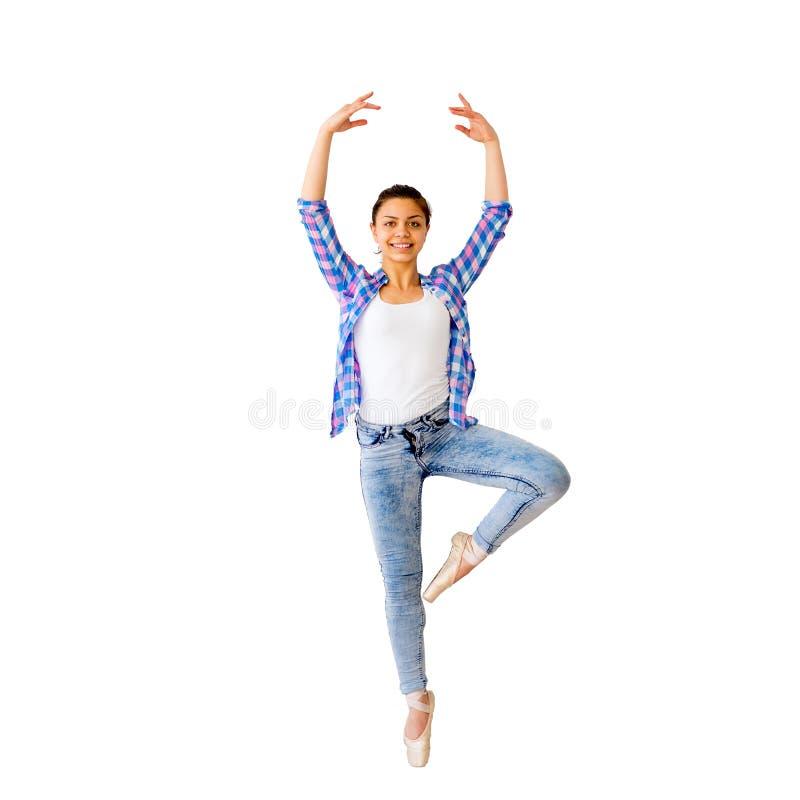 Portrait d'une fille de danse photo libre de droits