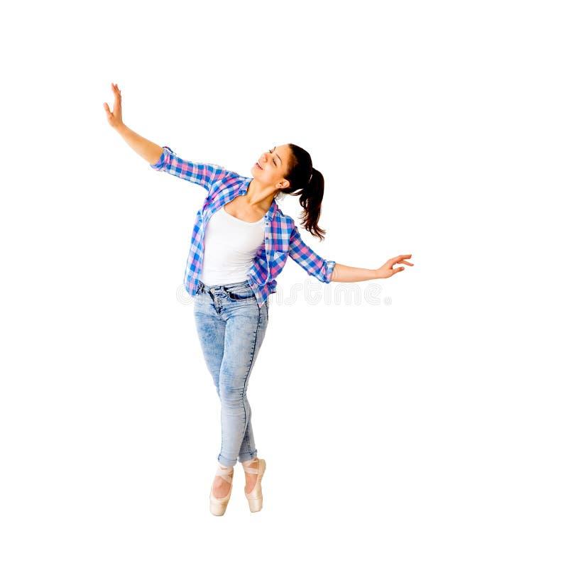 Portrait d'une fille de danse image libre de droits