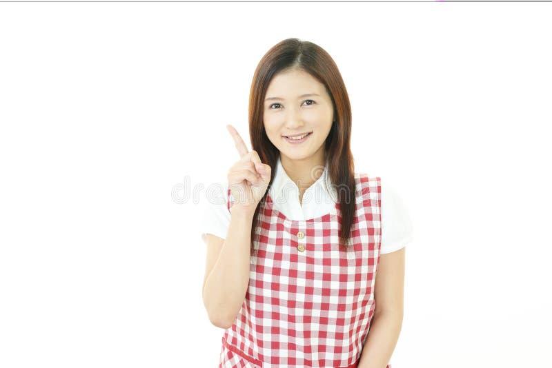 Portrait d'une jeune femme asiatique photos stock