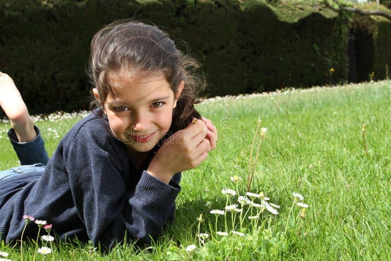 Portrait d'une jeune fille photographie stock