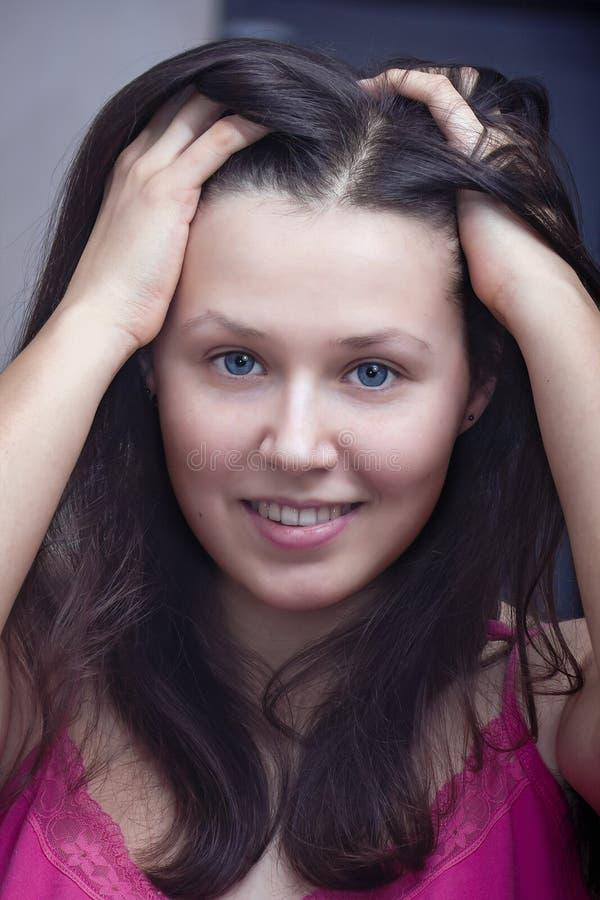 Portrait d'une jeune fille photo libre de droits